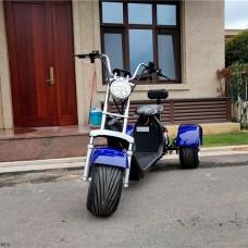 Трехколесный электроскутер ElectroTown Citycoco Harley 2000W