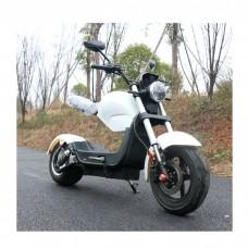 Электроскутер ElectroTown Citycoco Bike - белый