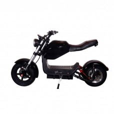 Электроскутер ElectroTown Citycoco Bike - черный