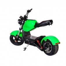 Электроскутер ElectroTown Citycoco Bike - зеленый